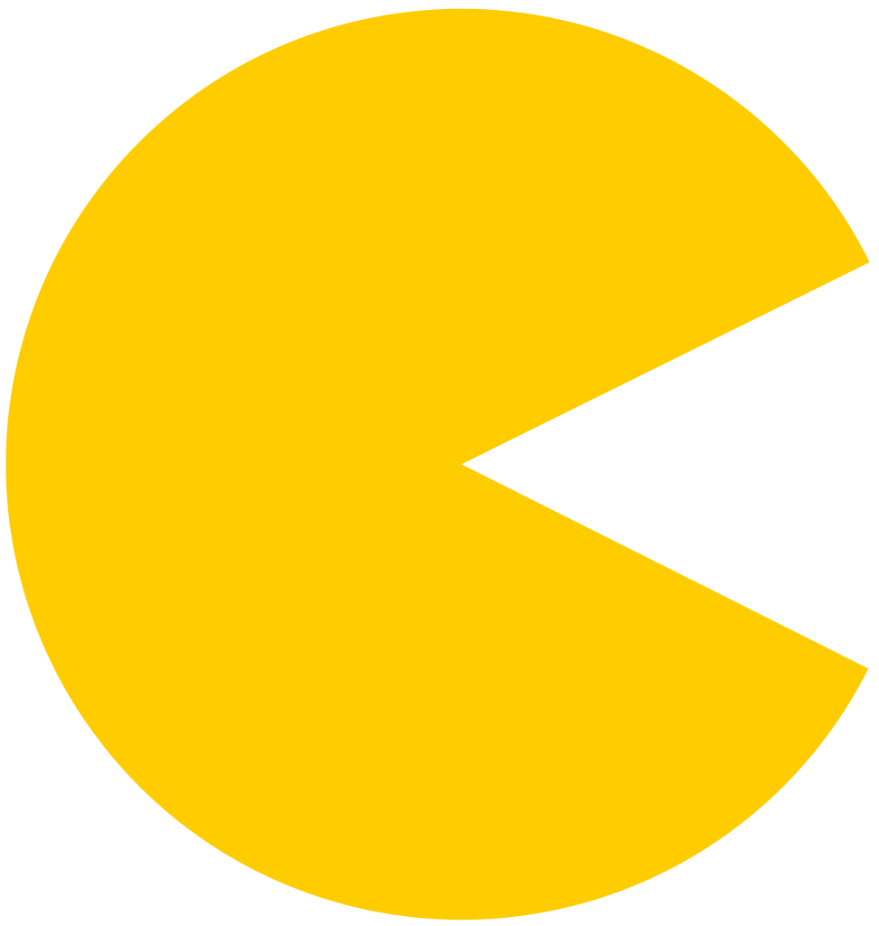 Pacman svg. File wikimedia commons filepacmansvg