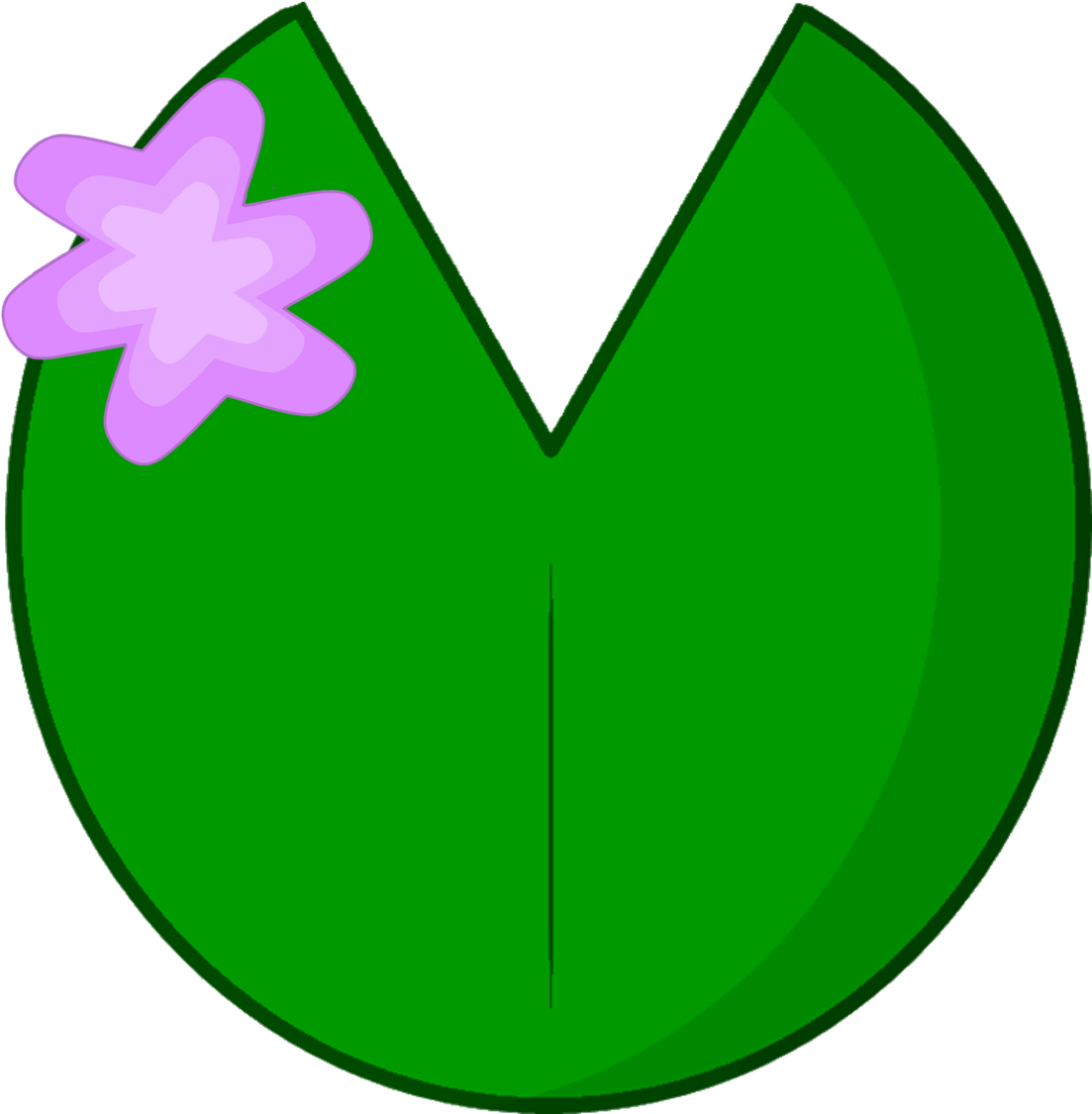 Lilypad drawing pen. Pad clipart for free