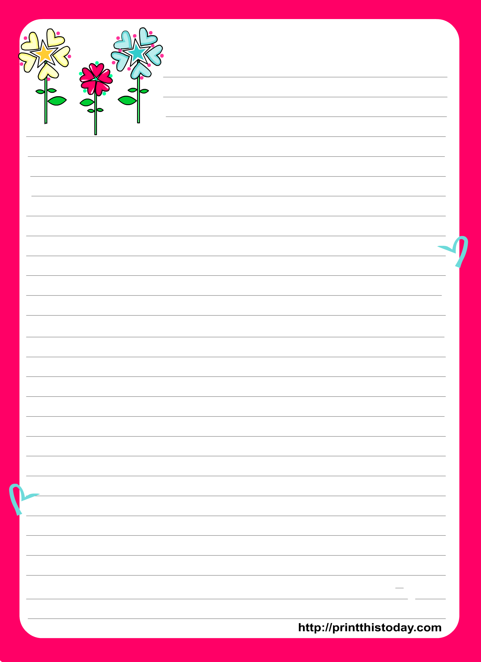 Pad clipart letter pad. Love stationery design with