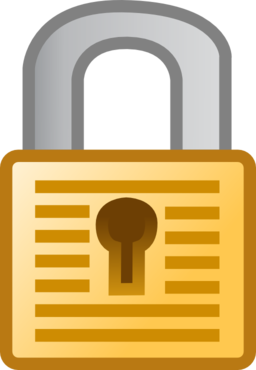 padlock clipart door lock