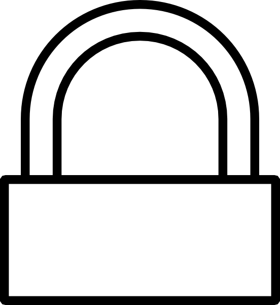 Padlock drawing easy. Lock at getdrawings com