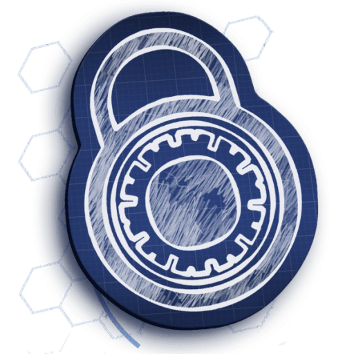 Padlock drawing realistic. Blueprint for crafting your