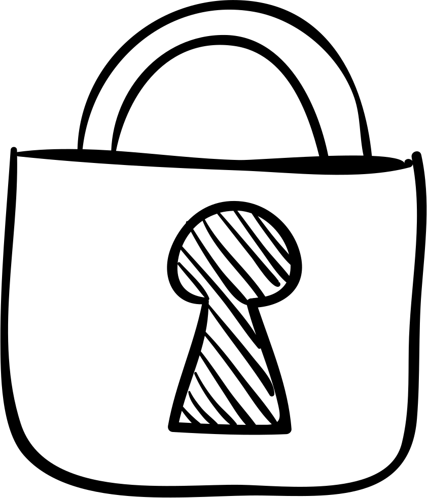 Padlock drawing sketch. At getdrawings com free