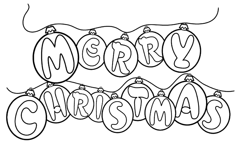Page clipart coloring. Christmas clip art pages