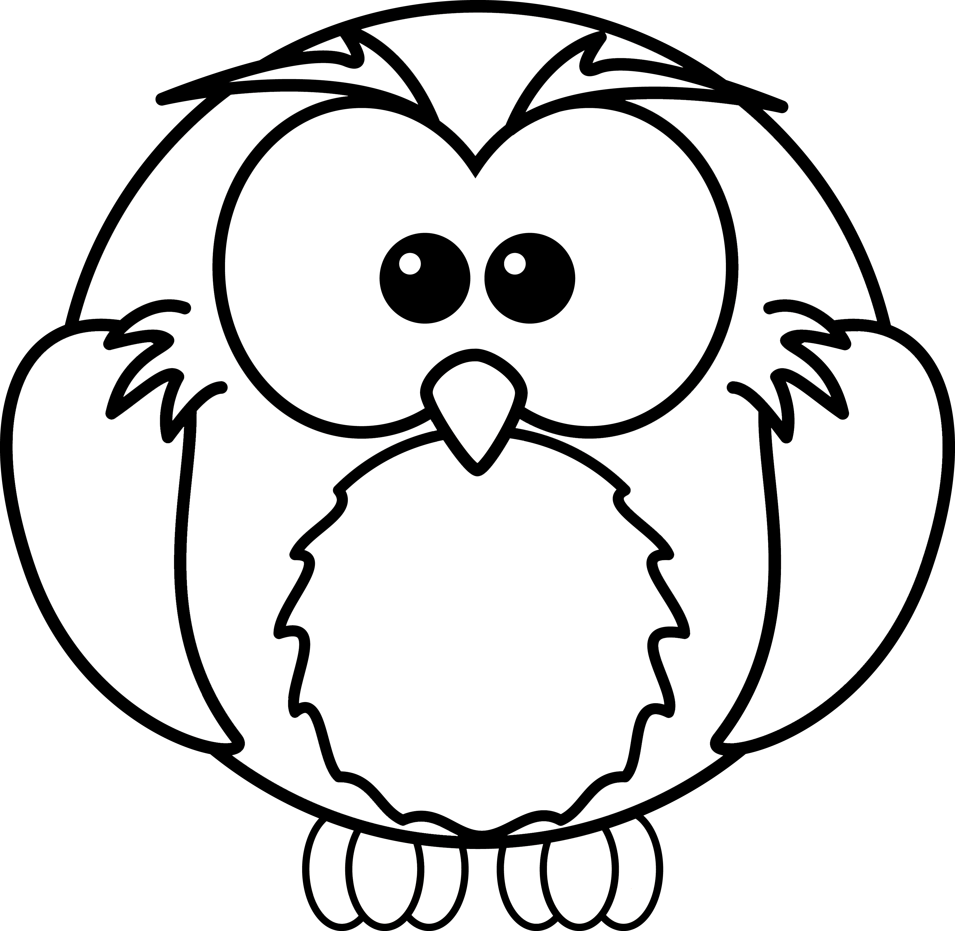 Owl pages . Page clipart coloring stock