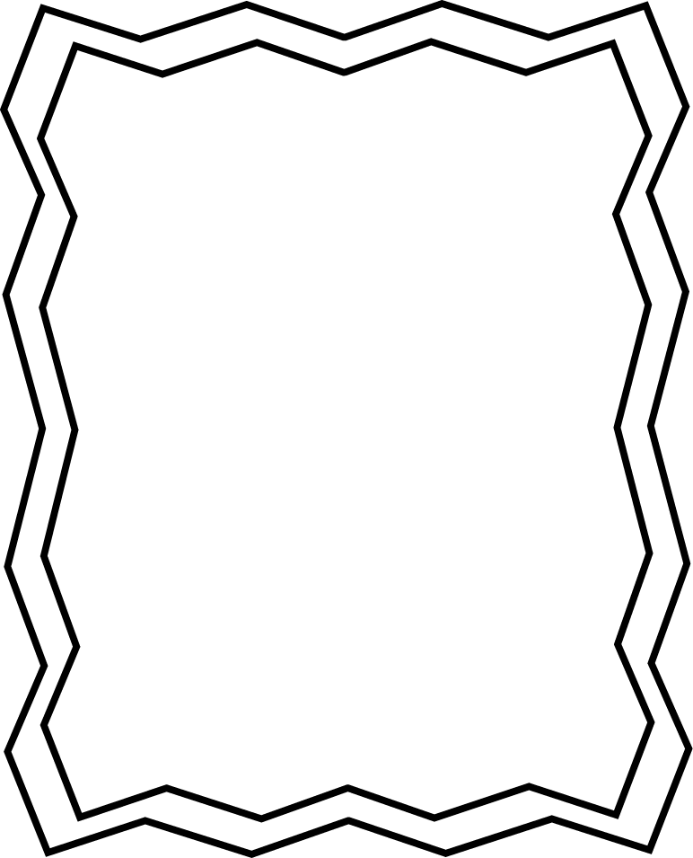 black and white borders png