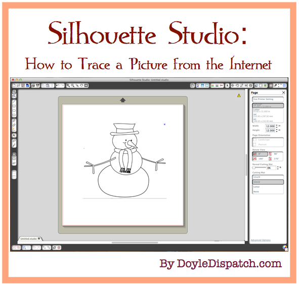 Page clipart multiple. With silhouette software