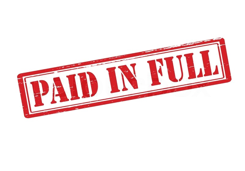 Paid in full png. Image background arts
