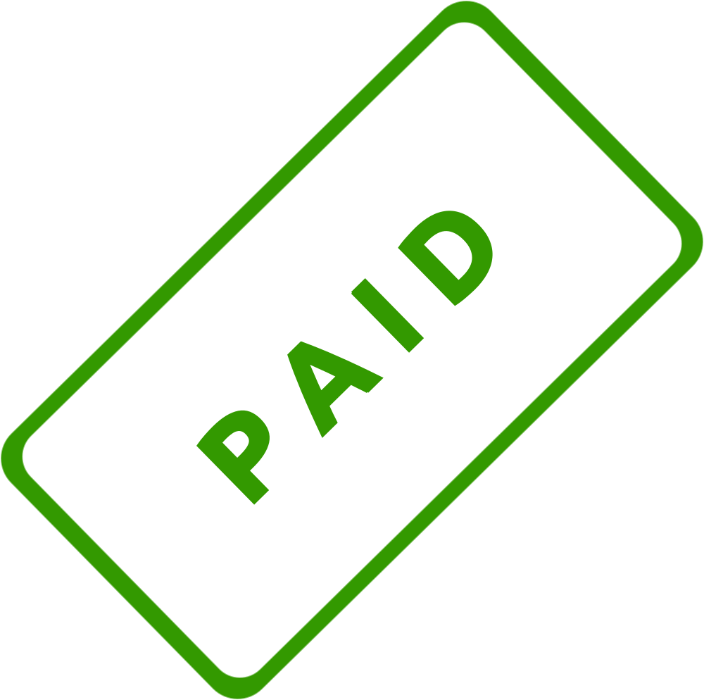 Paid in full stamp png. Onlinelabels clip art business