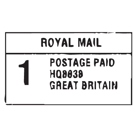 paid postage png