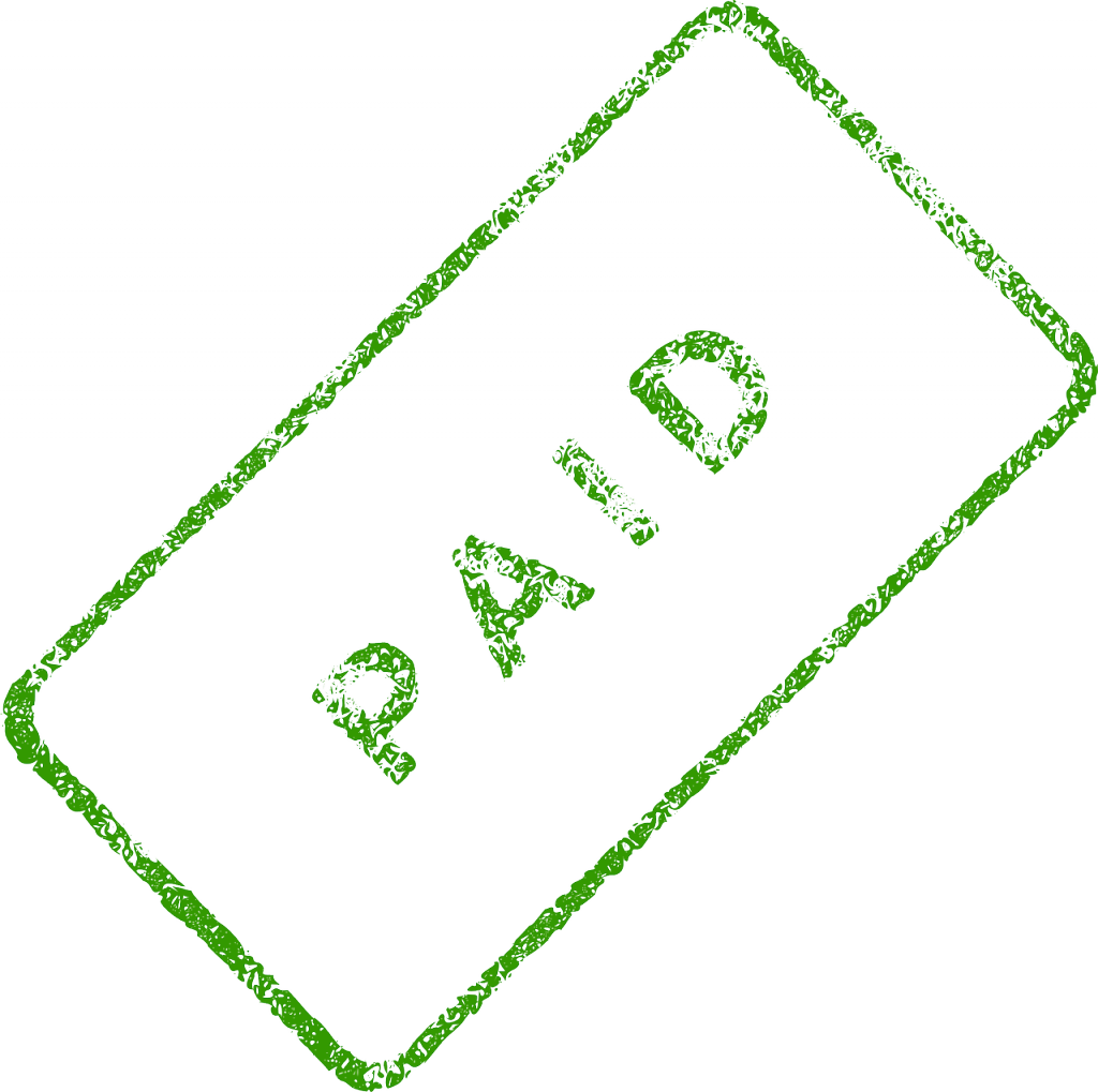 Paid seal png. Duplicate payment in accounts