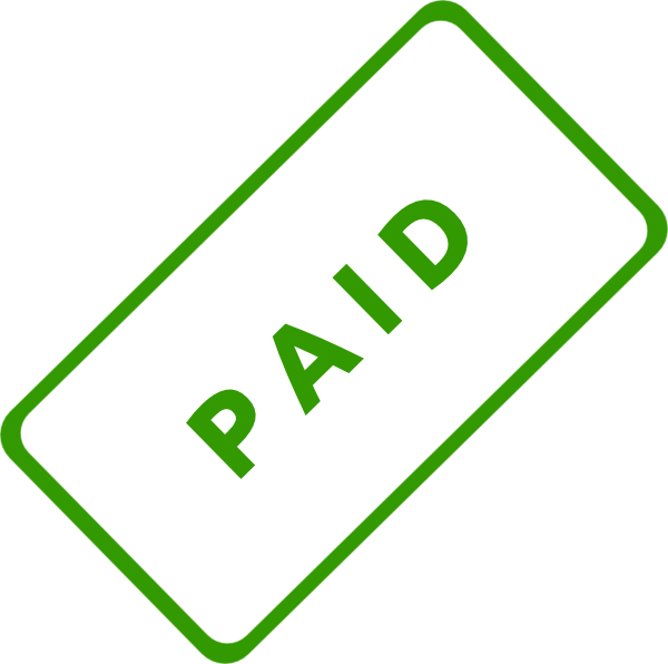 Paid stamp png. Clip art at clker