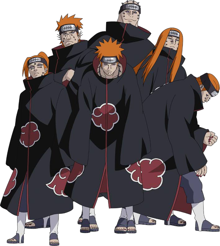 Pain clipart. Download free png naruto