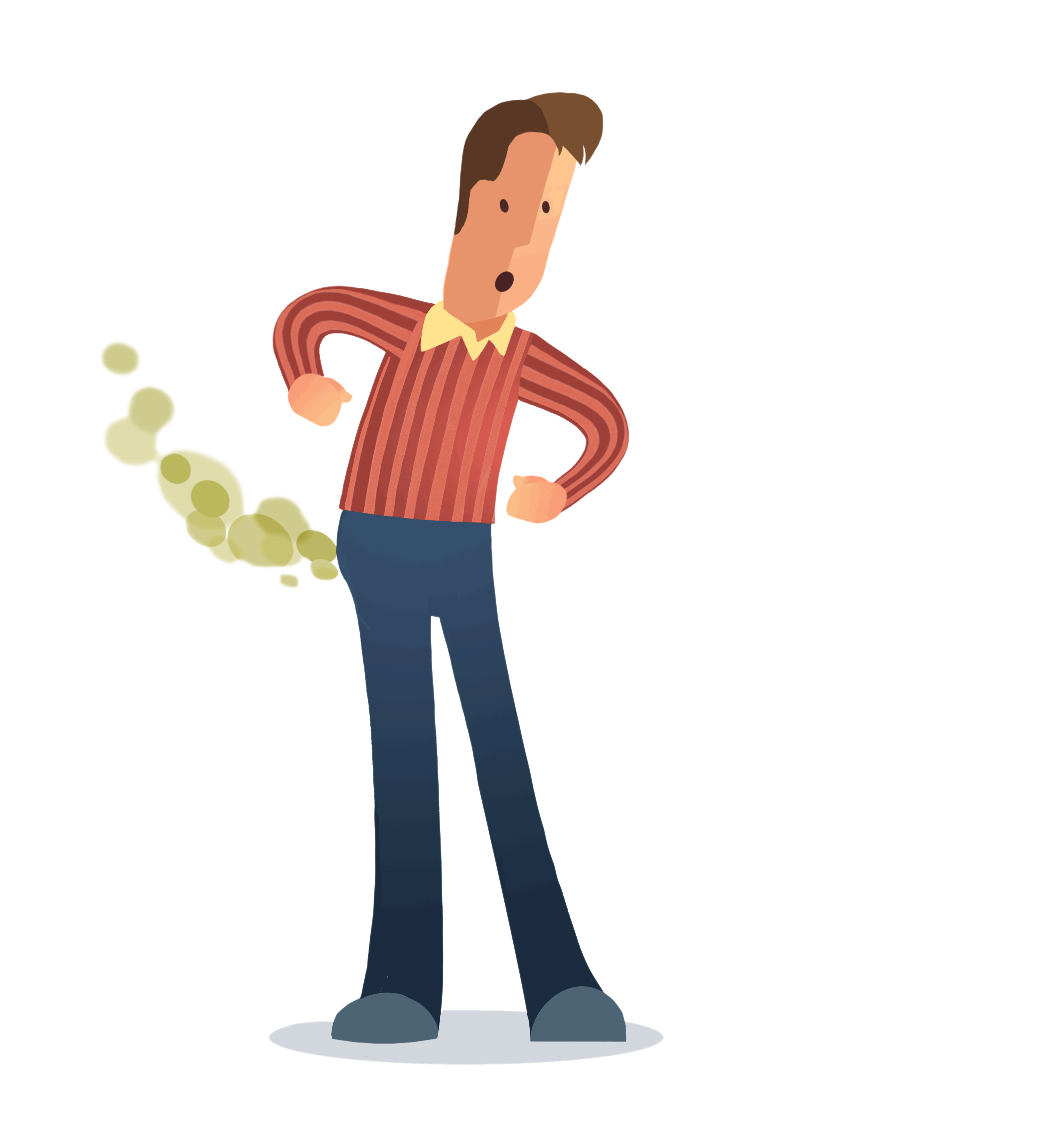 Pain Stomach Cramp Transparent Png Clipart Free Download Ya