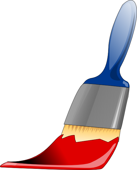 Vector Paintbrush Cartoon Paint Transparent Png Clipart Free