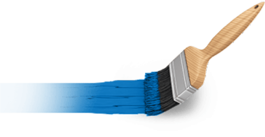Paint brush png. Download blue images background