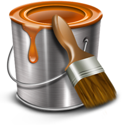 Paint can png. Bucket icon construction iconset