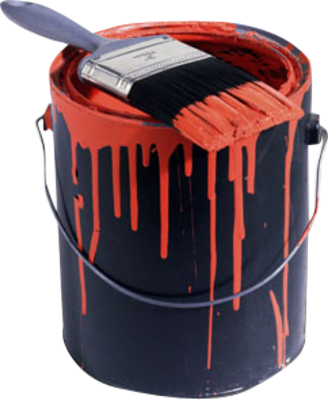Paint can png. Psd dave rowe painter