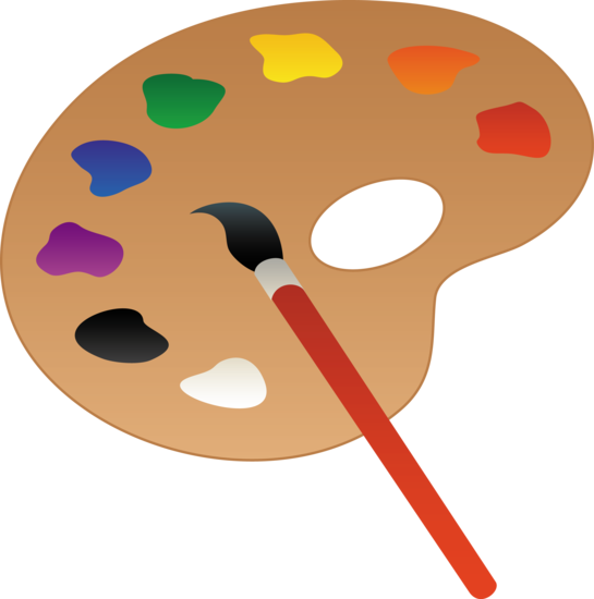 palette clipart paint swatch