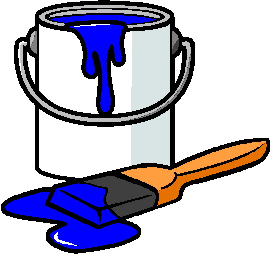 Paint clipart. Can