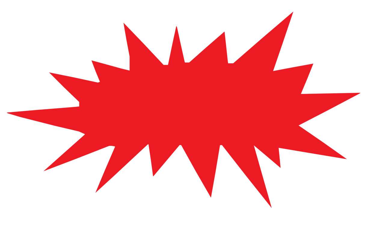Paint clipart burst. Download drawing red computer