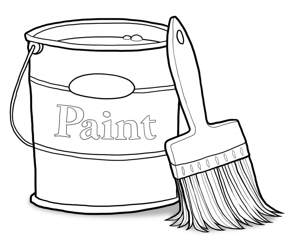 Brush clipart paint brush. And mychurchtoolbox org