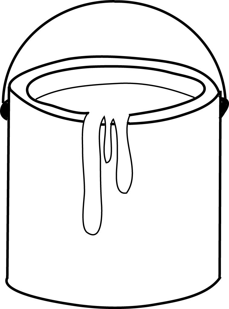 paint clipart paint pail