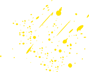 Yellow paint splatter png. Clip art at clker