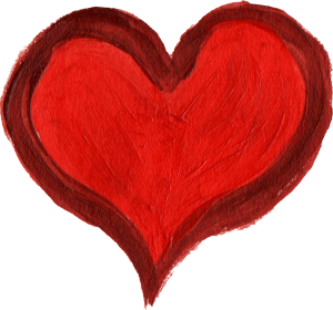 Painted heart png. Images free maco ibaldo