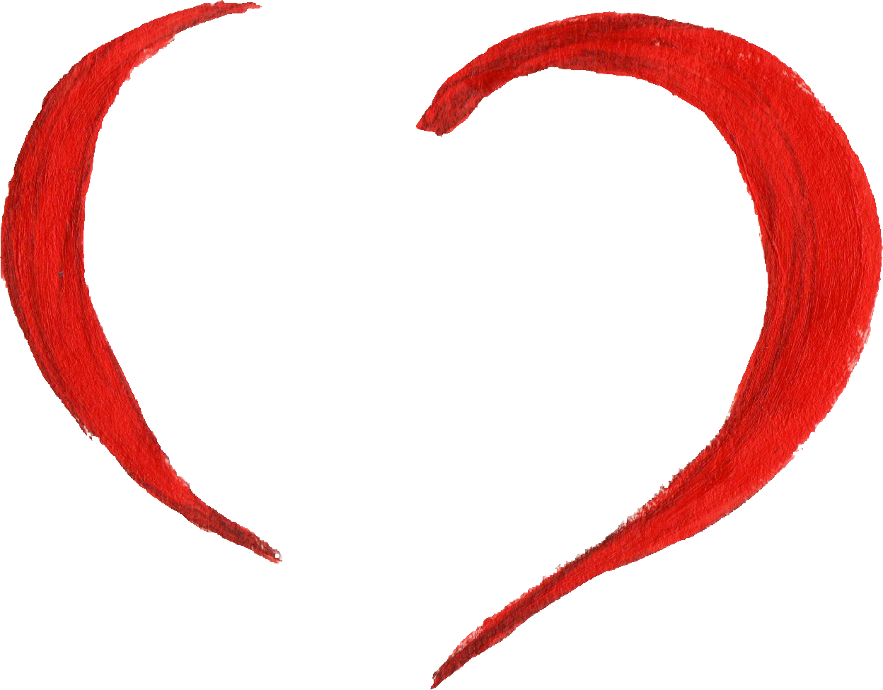 Paint heart png. Painted transparent onlygfx