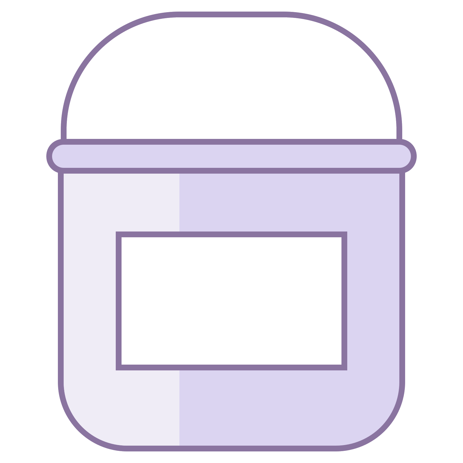 Paint label png. Bucket with cones download