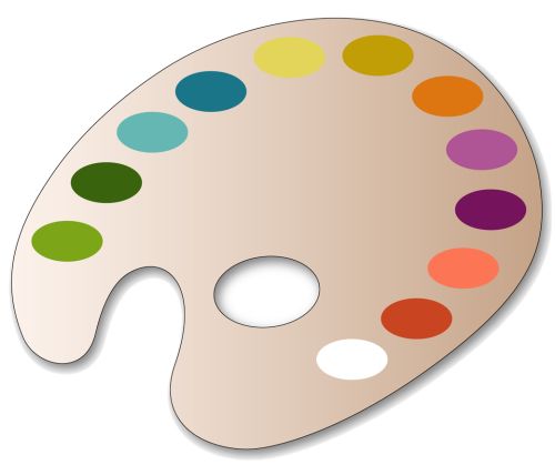 Paint pallet png. Palette painting images free