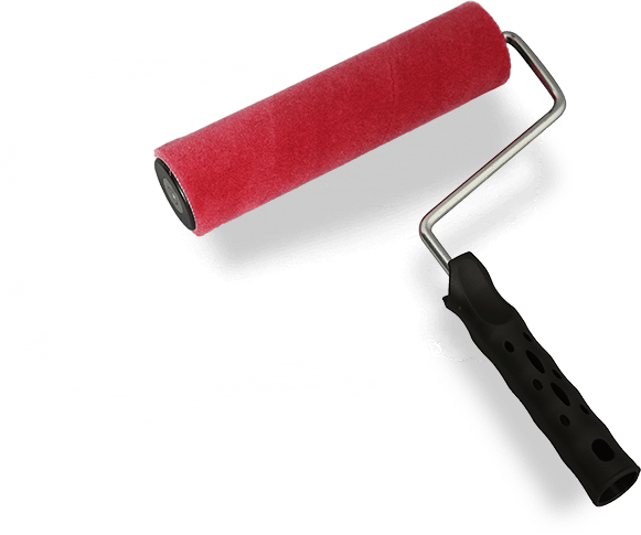 Paint roller png. Ergonline rollers and bristle