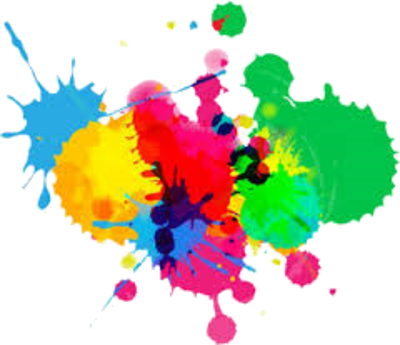 Detail paint splatter official. Colorful vector psd png transparent library
