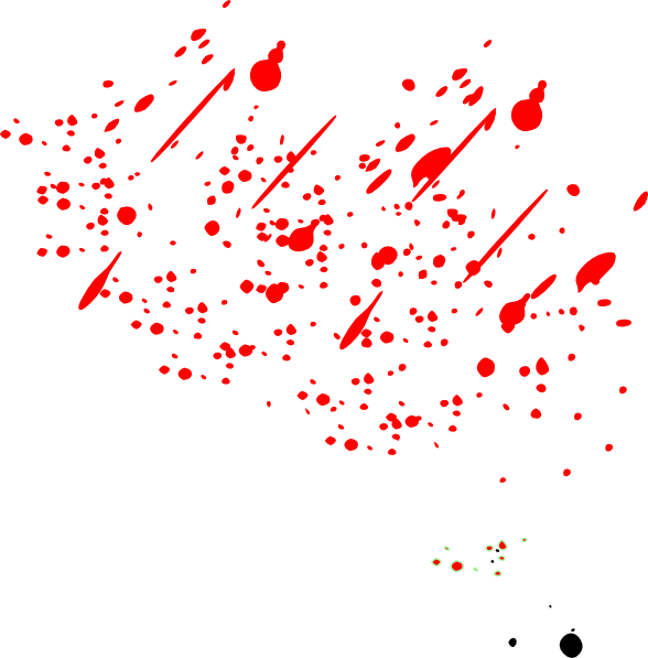 Paint splatters png. Simple splatter take clip