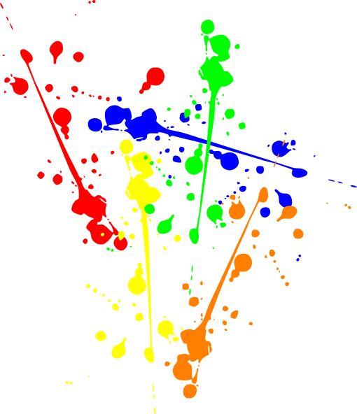 Paint splotches png. Splatter transparent pictures free