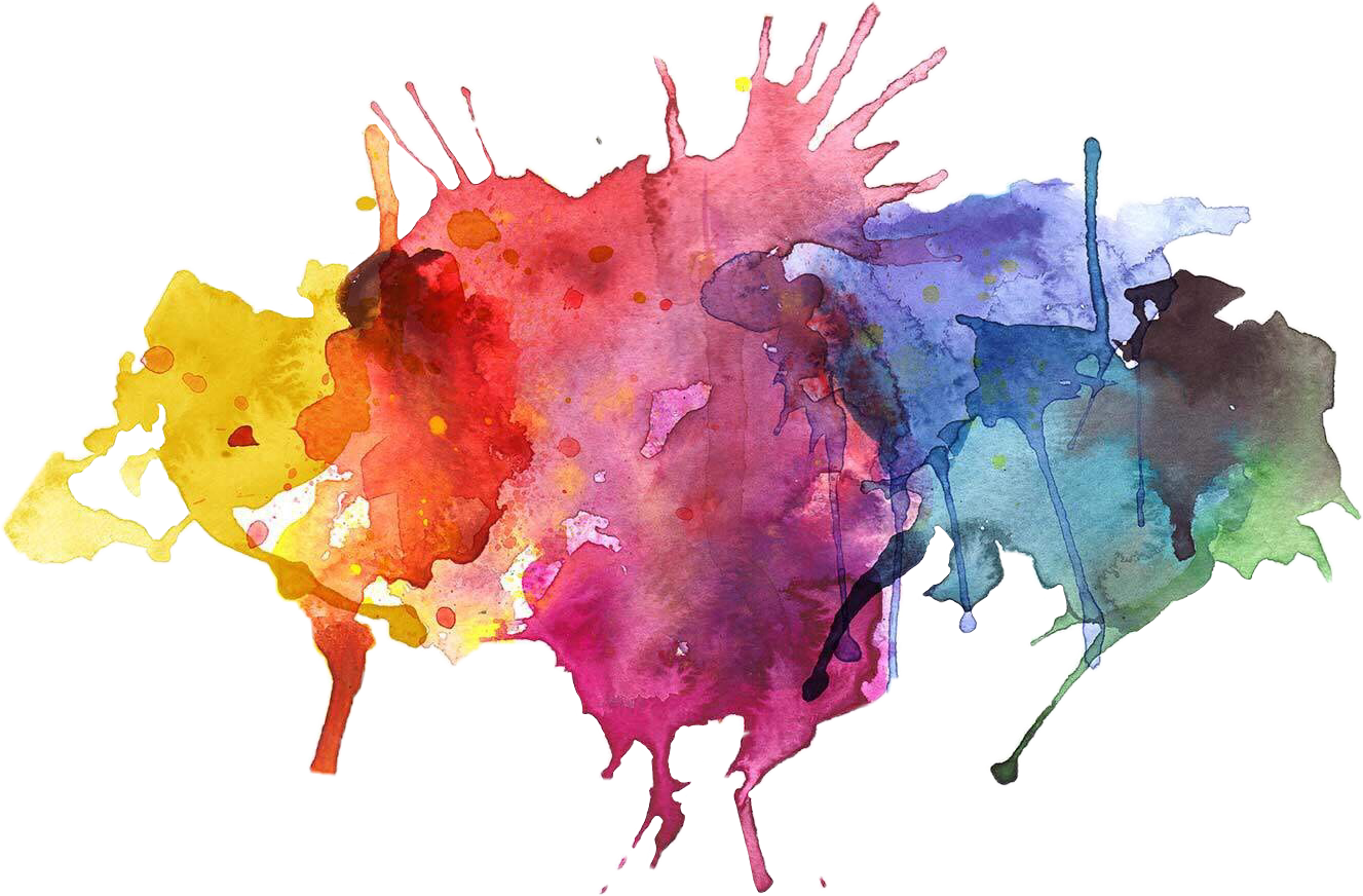 Paint spray png. Ink inksplatter colourful painting