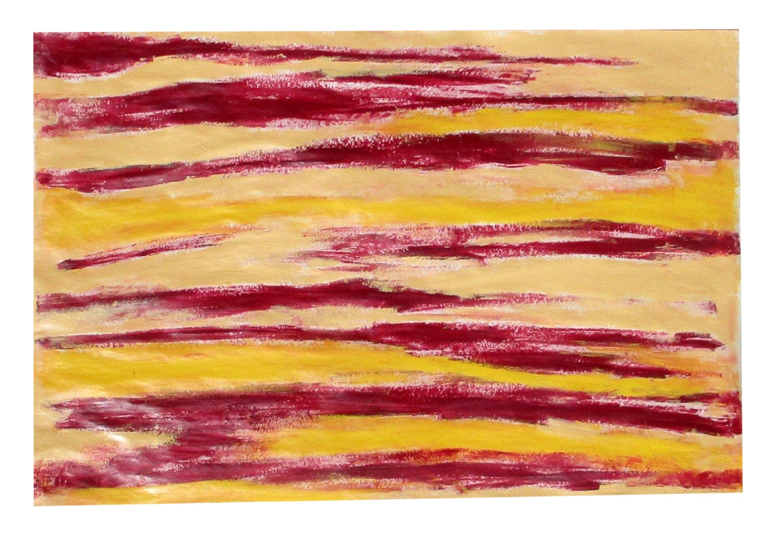 Paint streaks png. Alaina abstract red yellow