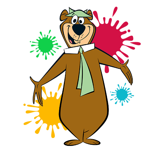 Activities clipart resort. Paintball yogi bear s