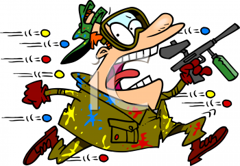 Paintball clipart. Free animated clip art