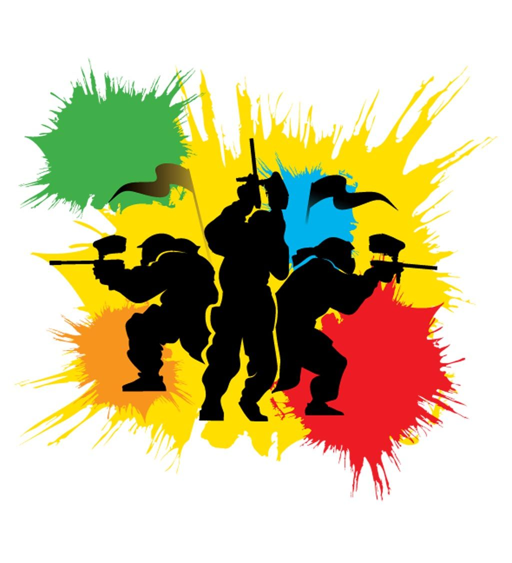 paintball clipart