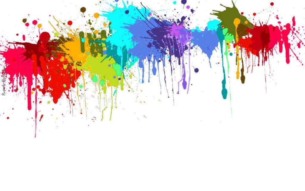 Paintball clipart rainbow painting. Splatter backgrounds download the