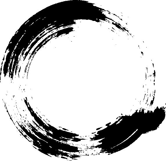 Painted circle png. Grunge brush stroke