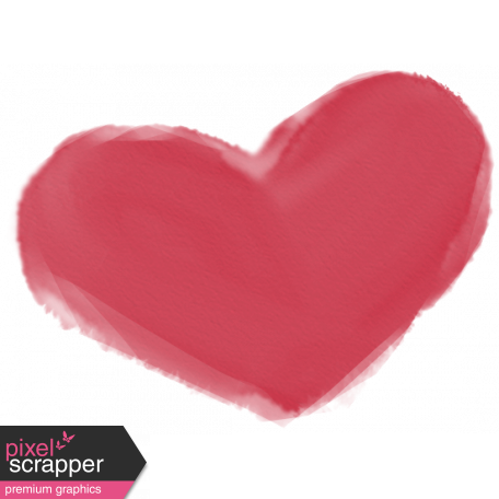Painted heart png. Enchanted graphic by brooke