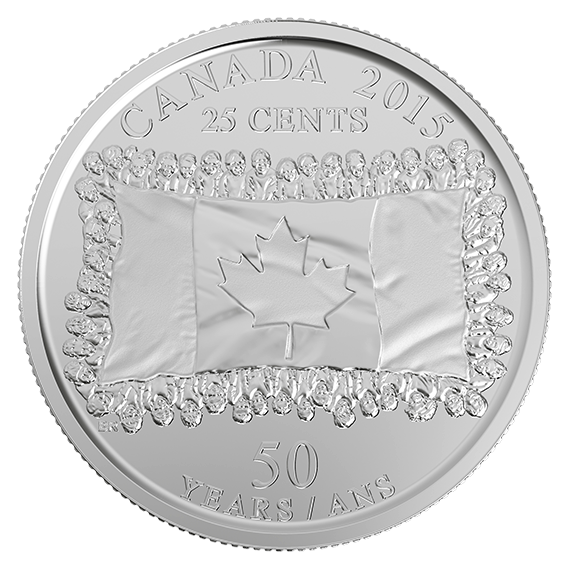 Painted quarter png. Cent circulation pack