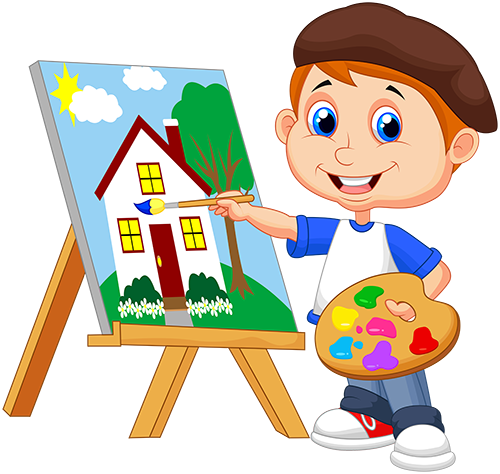 kids painting png