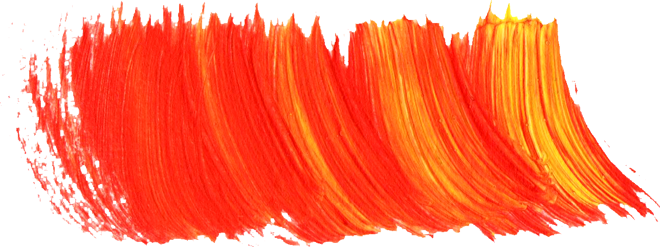 Painting brush png. Paint strokes transparent