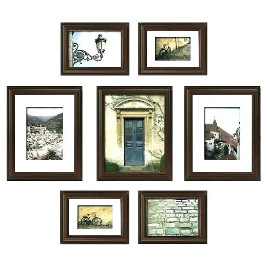 Painting clipart wall frame. Photo collage set superb