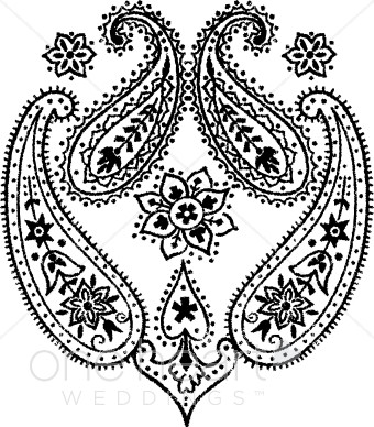Wedding designs. Western clipart paisley royalty free stock