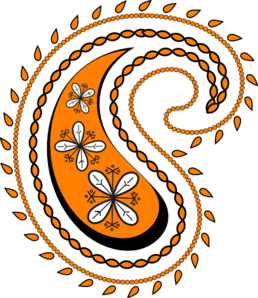 New clip art at. Western clipart paisley image free library